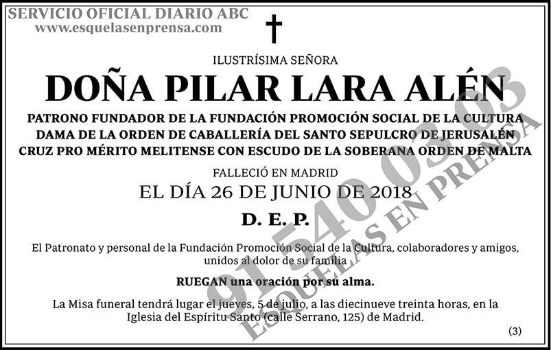 Pilar Lara Alén